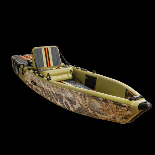 LONO Aero 12′6″ Verge Camo Inflatable Kayak