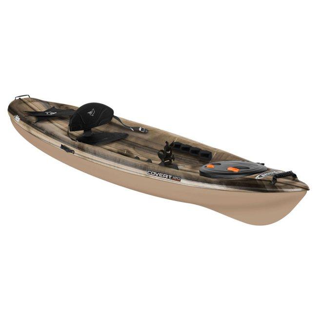 Covert 120 angler fishing kayak