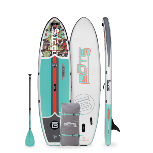 Breeze Aero 10′8″ Native Floral Jaws Inflatable Paddle Board