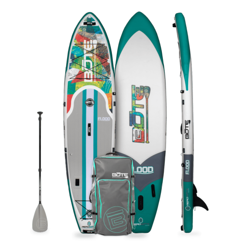 Flood Aero 11′ Native Patchwork Inflatable Paddle Board