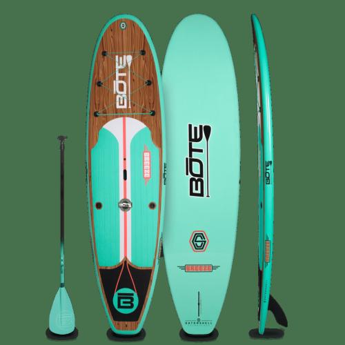 Breeze 10′6″ Classic Teak Paddle Board