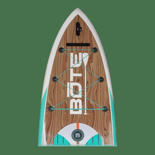 HD 12′ Classic Teak Paddle Board