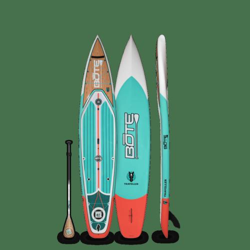 Traveller 12′6″ Classic Teak Paddle Board