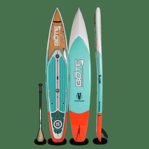Traveller 14′ Classic Teak Paddle Board