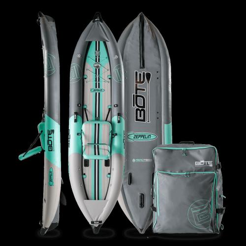 Zeppelin Aero 12′6″ Graphite Inflatable Kayak