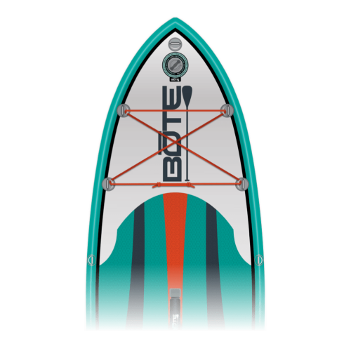 Flow Aero 8' Native Teal Kids Inflatable Paddle Board