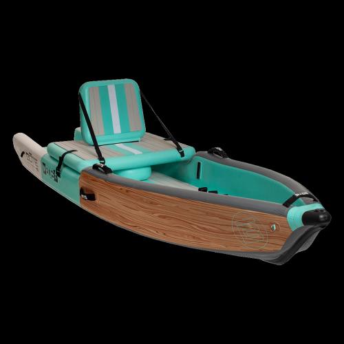 DEUS Aero 11′ Classic Teak Inflatable Kayak
