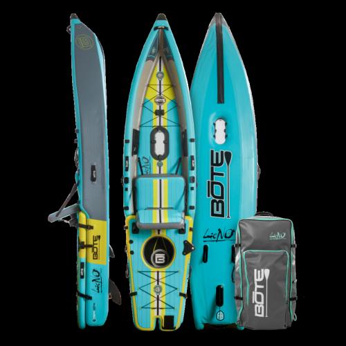LONO Aero 12′6″ Native Citron Inflatable Kayak