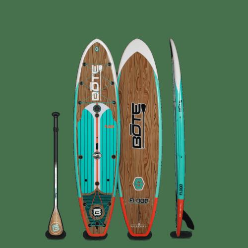 Flood 10′6″ Classic Teak Paddle Board