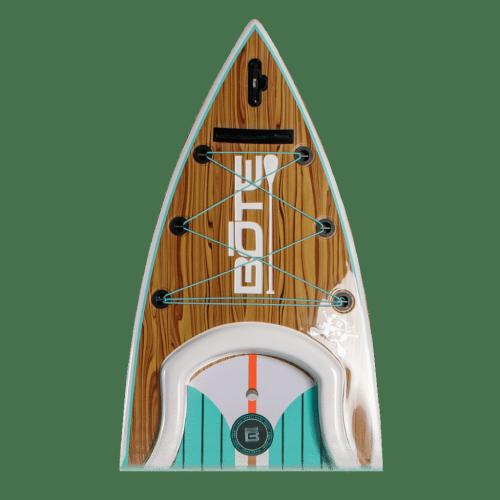 Rackham 12′ Classic Teak Paddle Board