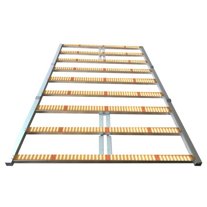 900W 9 bars 0-10V knob dimmable lm301b led grow light for vertical farm