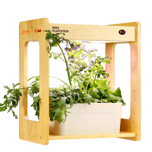 20W mini portable indoor desk plant Aquaponic System hydroponic growing systems plant grow light kit for home office