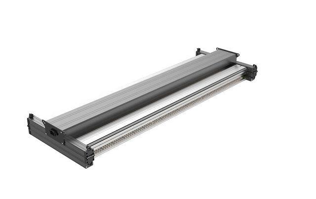 3 Foldable 650-800W 6-8 bars 0-10V RJ14 + knob dimmable led grow light bar for commercial growing