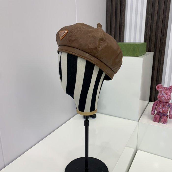 3-color temperament wild beret hat