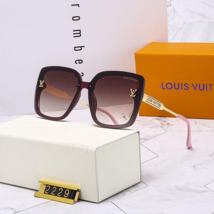 3-color classic square sunglasses
