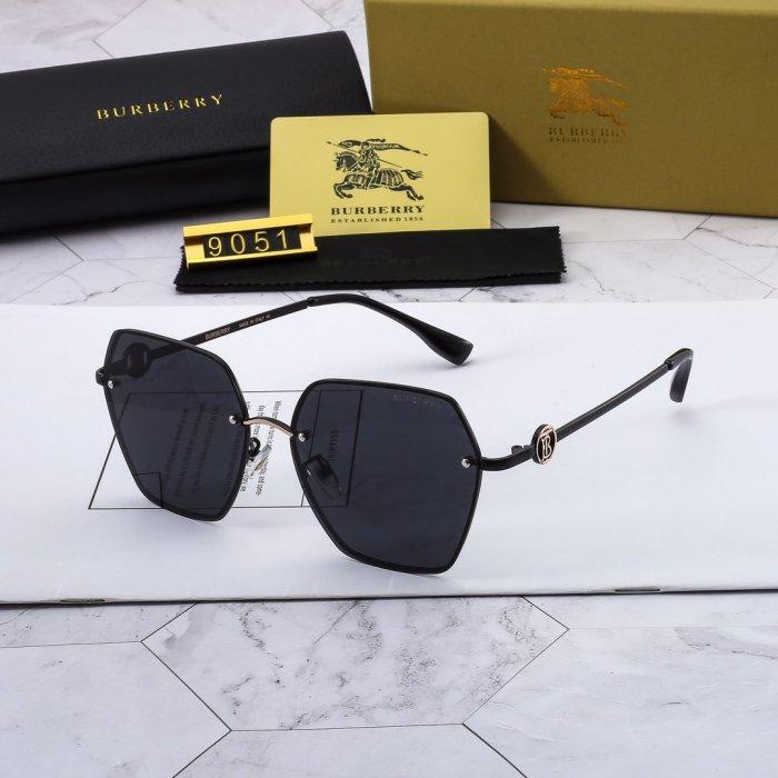 Fashion frameless polarized B9051 sunglasses