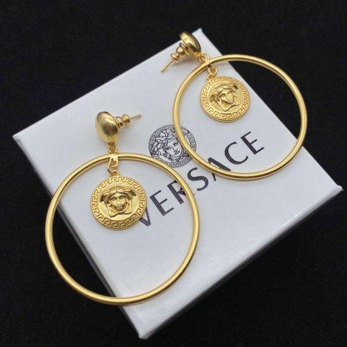 Personalized big hoop earrings
