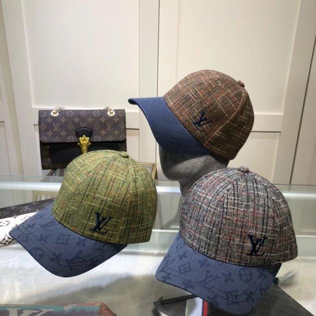 Cotton linen baseball cap