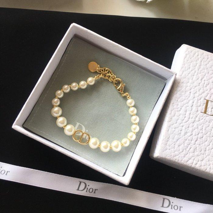 Pearl letter bracelet