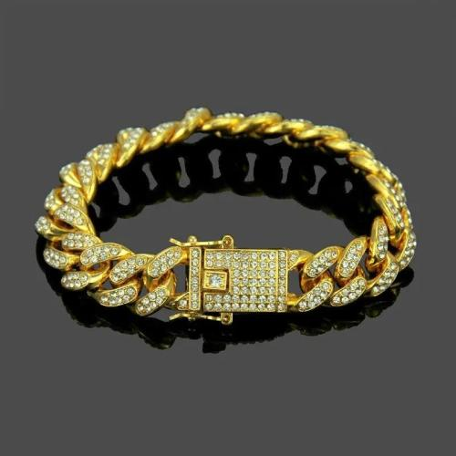 hiphop diamond bracelet