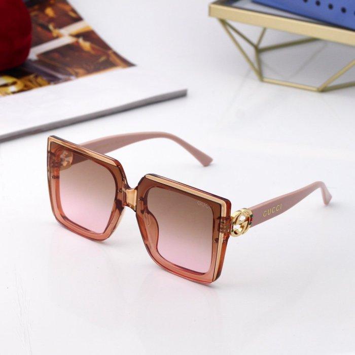 Fashion retro big frame sunglasses