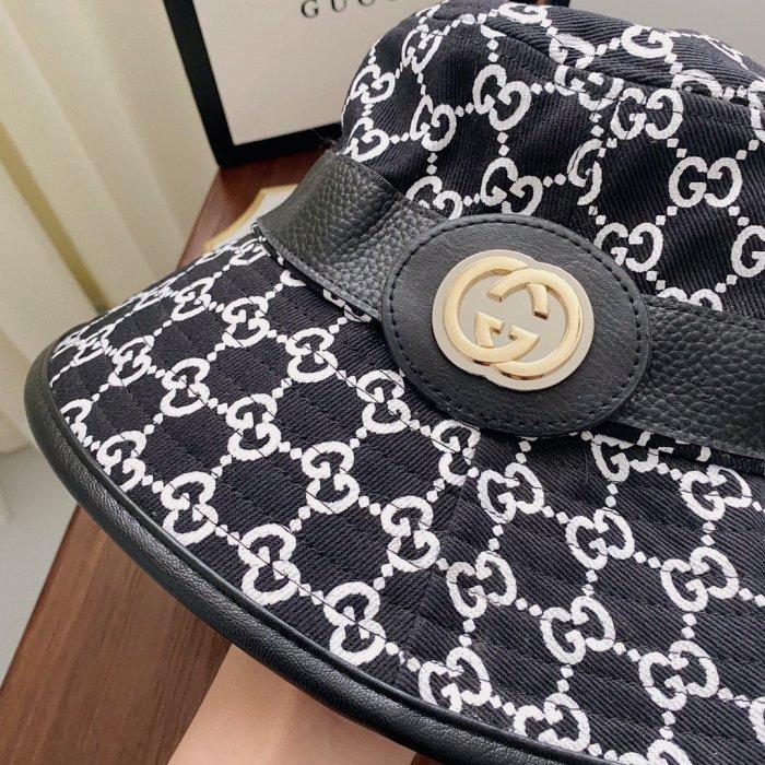 New belt metal letter bucket hat