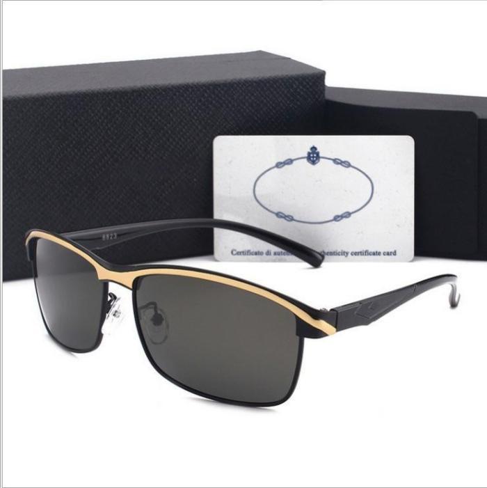 New men's polarized sunglasses