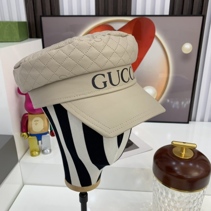 Fashion new artificial leather hat