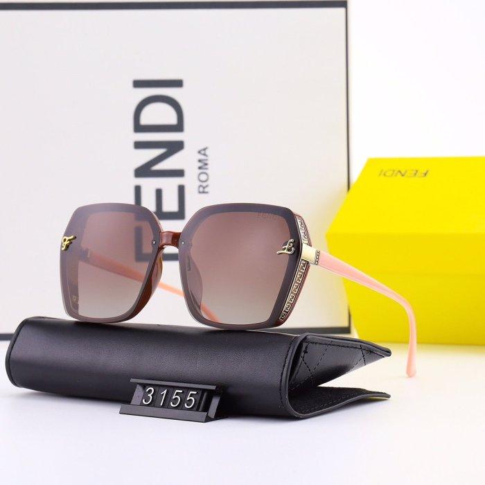 New large frame polarized F3155 sunglasses