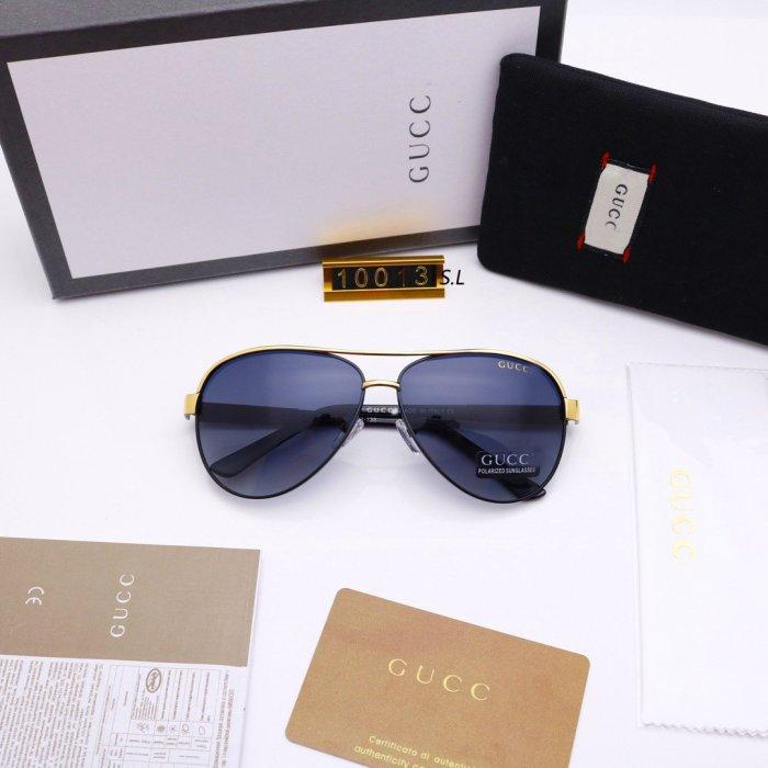 New men's fashion gradient sunglasses