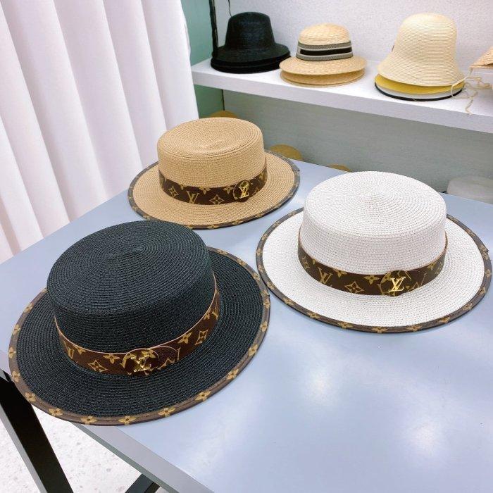 New fashion classic flat straw hat