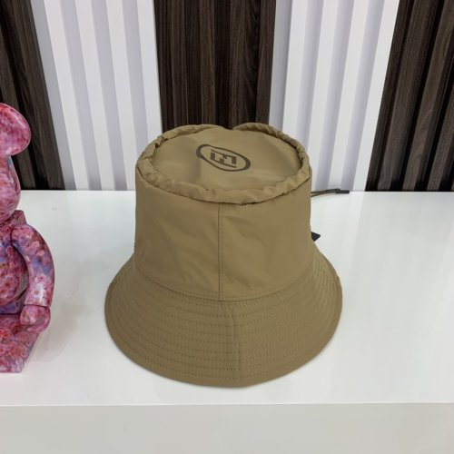 Autumn waterproof double-sided bucket hat