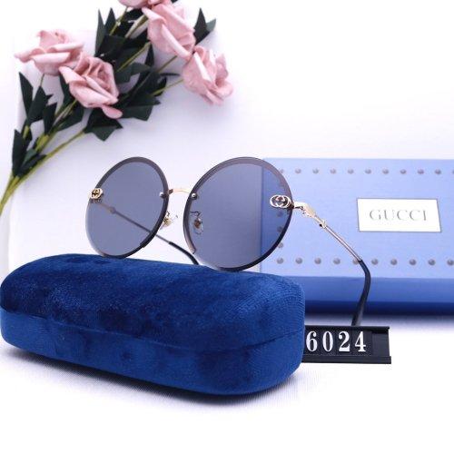 7 color classic round G6024 sunglasses