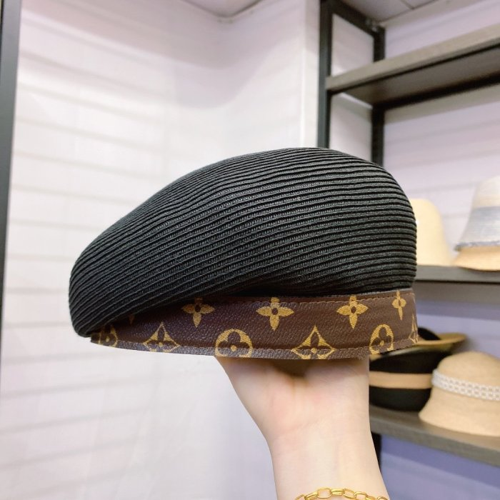 Fashion Leather Beret