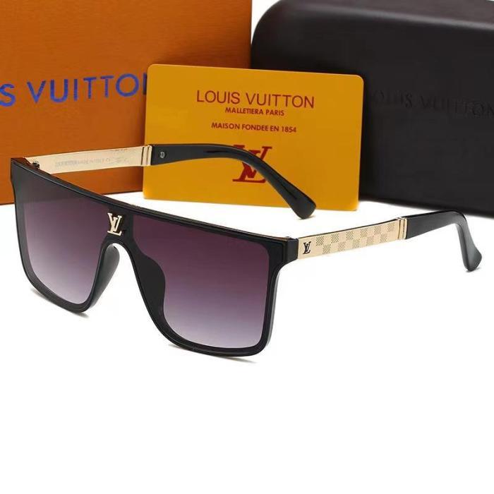 Classic printed letter sunglasses
