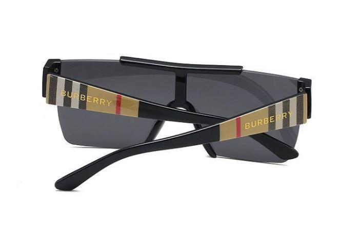 Fashion half frame sunglasses