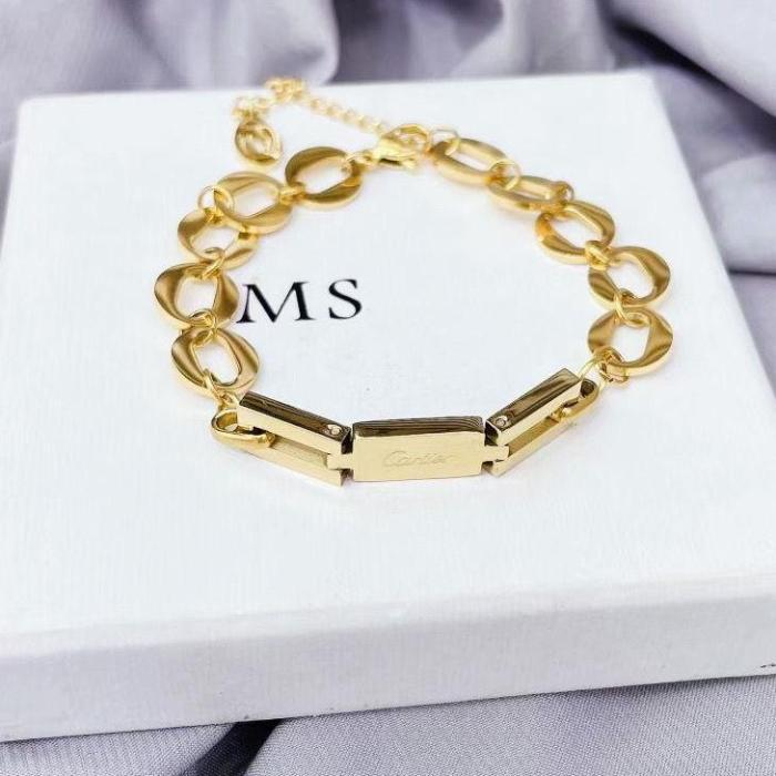 Classic chain stitching bracelet