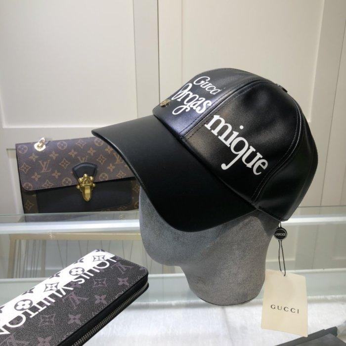 New style PU leather baseball cap/bucket cap