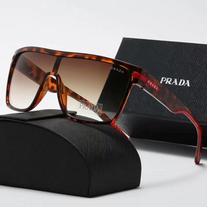 One piece trendy P sunglasses