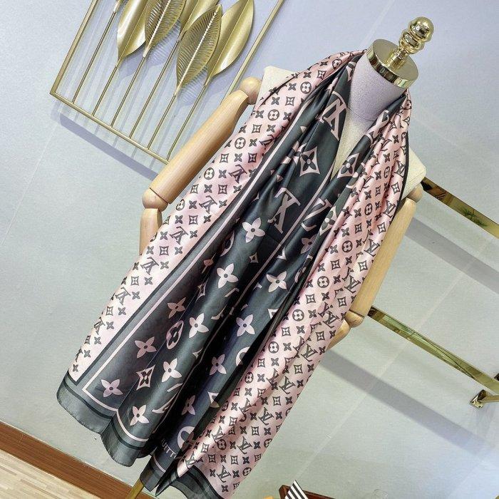 New long satin silk scarf