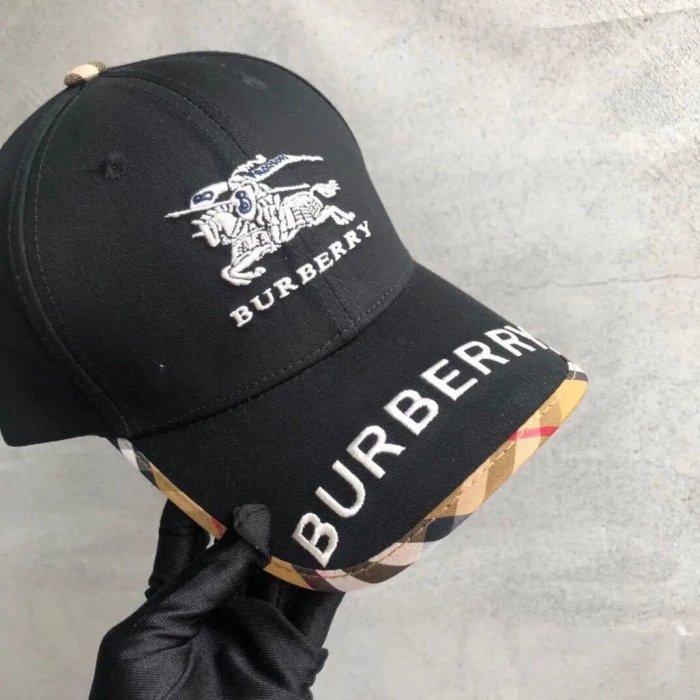 Check Embroidered Baseball Cap