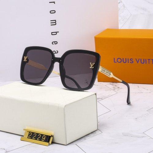 Classic square frame L2229 sunglasses