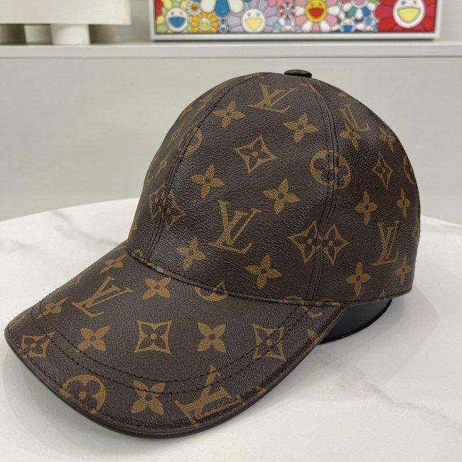 2021 new leather baseball cap