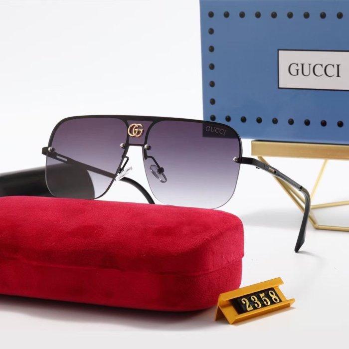New G2358 large frame sunglasses