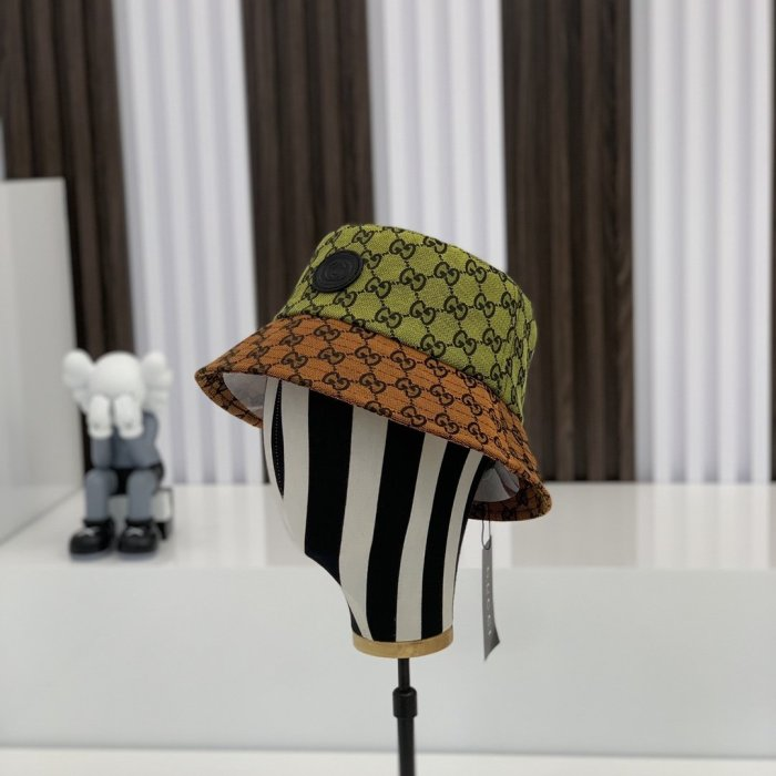 Limited style multicolor bucket hat
