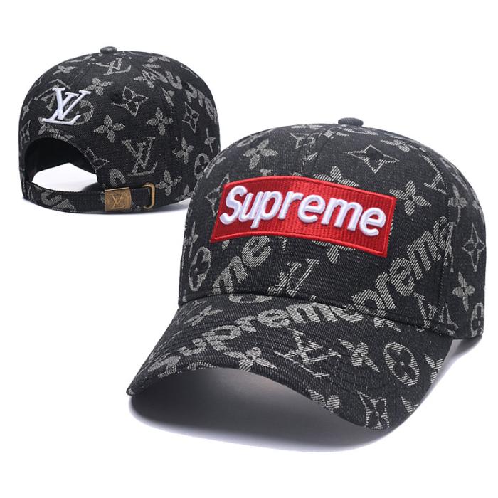Embroidered printed baseball cap