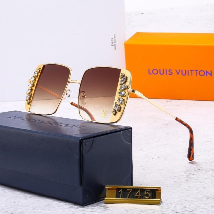Women's diamond-studded high-definition L1745 sunglasses