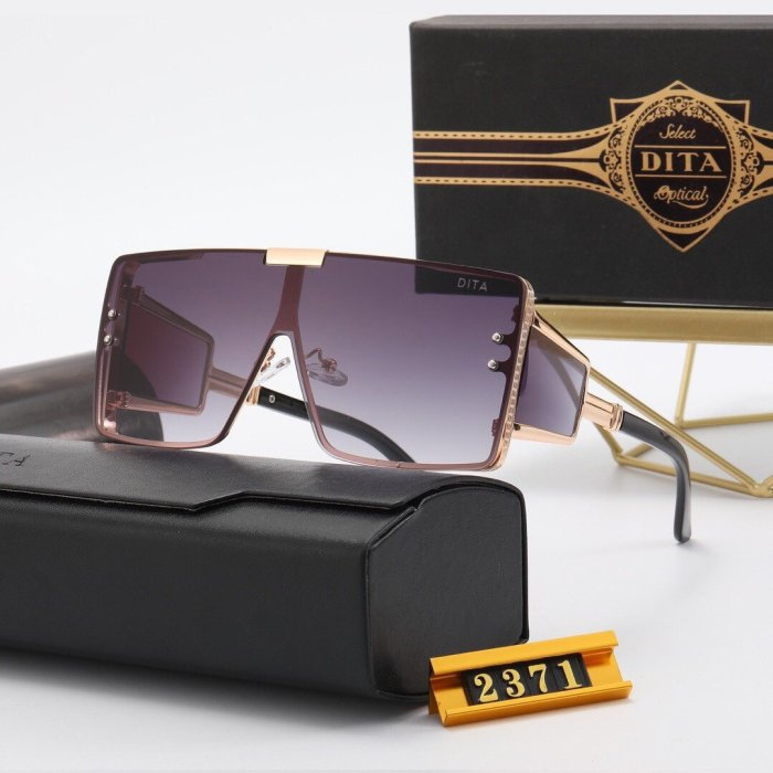 Personalized large frame one-piece sunglasses