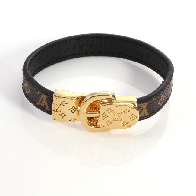 New buckle leather bracelet