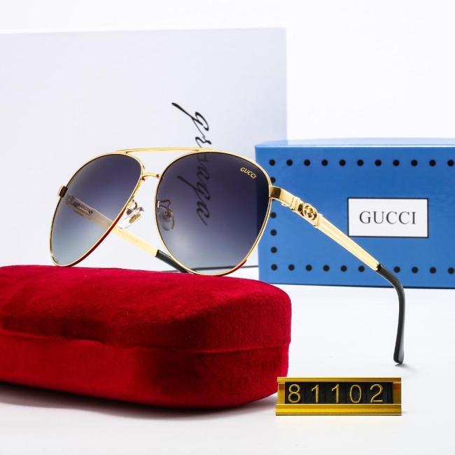 Fashion round frame G81102 sunglasses